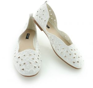 2ec992a68 Biele balerínky Stefanie značky Vices - Lovely.sk
