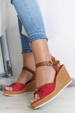 b1eb9abc27f64 Sandále TAMARIS - 1-28225-22 Red 500 značky Tamaris - Lovely.sk