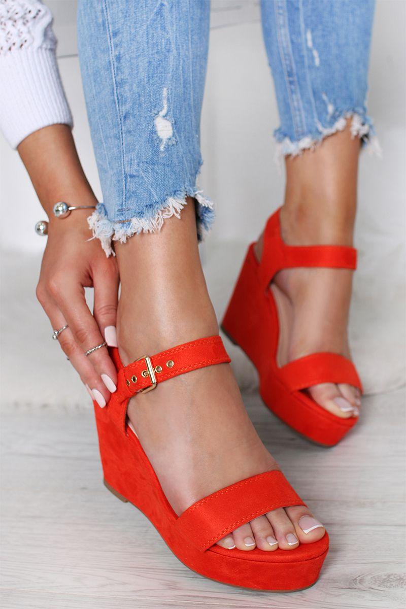 bd9b9fc9f4 Oranžové platformové sandále Kalie značky BELLE WOMEN - Lovely.sk
