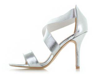 1720b97e7a54 Strieborné sandále Fabiola značky BELLE WOMEN - Lovely.sk