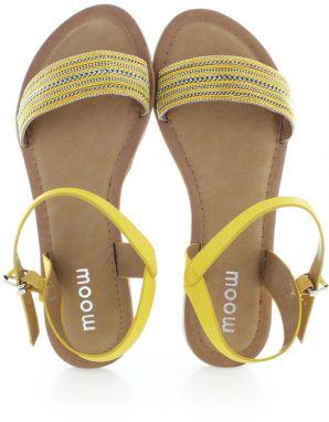 da5dd72aa Žlté sandále Tarina značky Moow - Lovely.sk