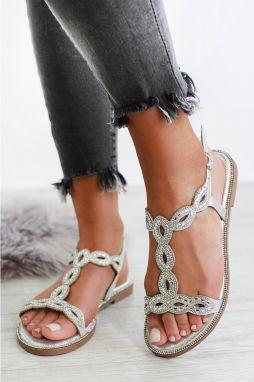 ecaf85eee084 Strieborné sandále Dido značky IDEAL - Lovely.sk