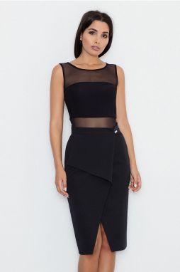 98fa65760721 Čierna sukňa M554 značky Figl - Lovely.sk