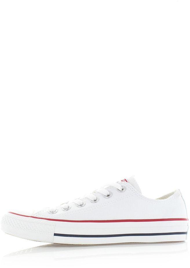 93f0c941b024b Dámske biele nízke tenisky Chuck Taylor All Star značky Converse ...