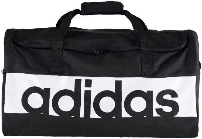 b3fc049f88633 Čierna športová taška ADIDAS Linear Performance Team Bag značky ...
