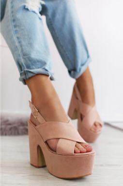 3a8f27cdc6 Dámske sandále na podpätku - Lovely.sk