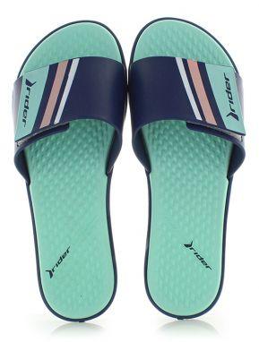 1111306e14e0 Modro-zelené šľapky Pool Slide
