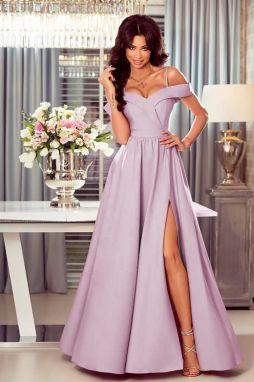 6835135ded72 Svetlofialové šaty Elizabeth