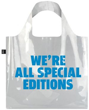 Transparentná taška We're all Special Editions Bag