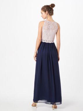 64748a8ec Večerné šaty SWING Námornícka Modrá / Ružová SWING značky SWING ...