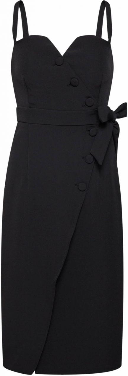 2e4a0548a Kokteilové šaty 'Merci Dress' 4th & Reckless čierna 4th & Reckless ...