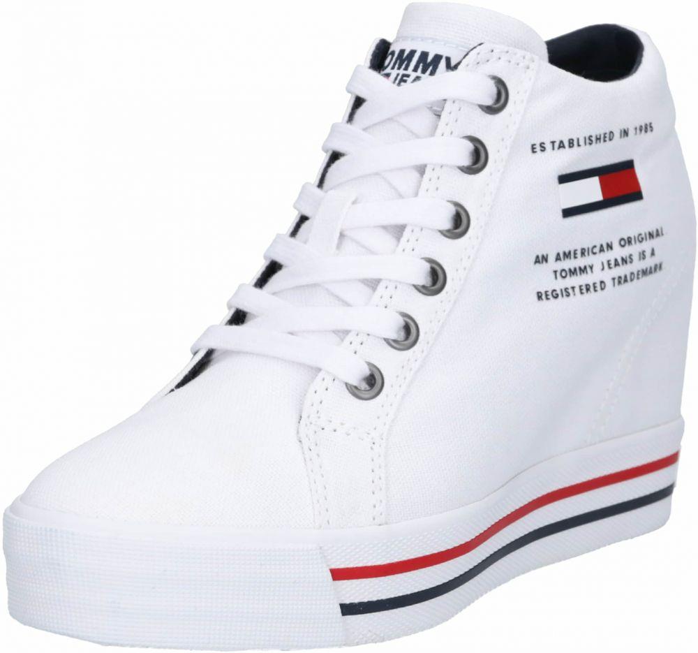 434ad688056d7 Členkové tenisky 'NICE WEDGE 1D' Tommy Jeans Biela Tommy Jeans ...
