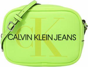 3dd98464fb Taška cez rameno  Sculpted Monogram Camera Bag  Calvin Klein Jeans Neónová žltá  Calvin Klein