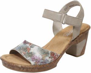 c3fa1c79f7 Sandále RIEKER Farba ťavej Srsti   Zmiešané Farby RIEKER