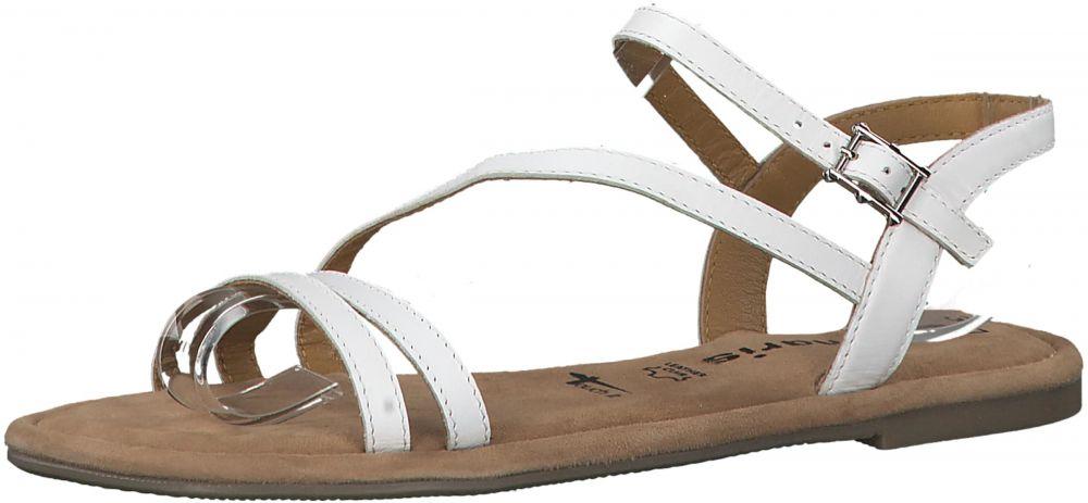 5b031610b Remienkové sandále TAMARIS Biela TAMARIS značky Tamaris - Lovely.sk