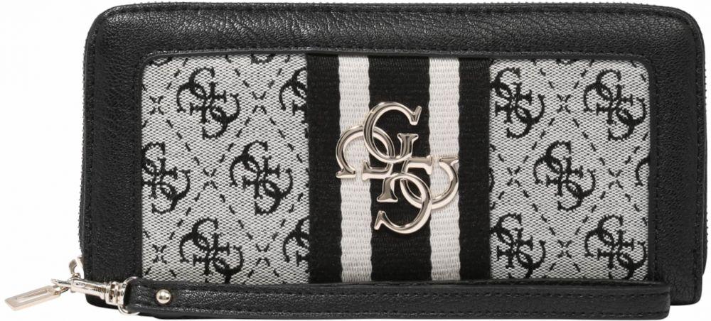 27a5d268d Peňaženka 'Vintage' GUESS Sivá / čierna GUESS značky Guess - Lovely.sk