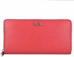 827c392020 Červená dámska veľká peňaženka Tommy Hilfiger Poppy značky Tommy ...