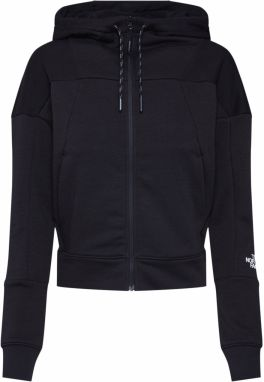 Tepláková bunda 'Women's Light Fullzip Fleece Hood' THE NORTH FACE čierna THE NORTH FACE
