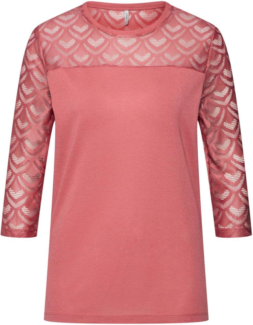 46259fafd Tričko ONLY Ružová ONLY značky ONLY - Lovely.sk