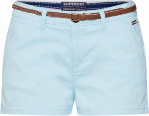 Superdry Chino nohavice  modré