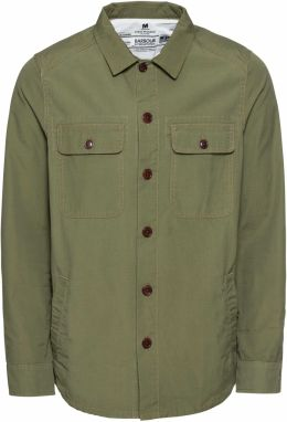 Barbour International Košeľa 'Smq Doc Overshirt'  olivová