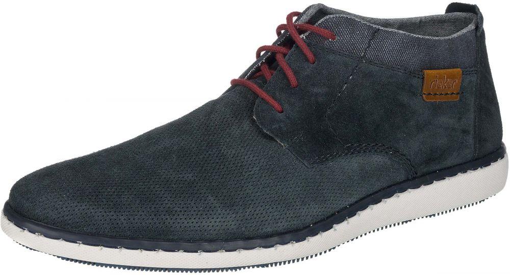 177e56c8b Šnurovacie topánky RIEKER Modré RIEKER značky RIEKER - Lovely.sk