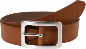 TOM TAILOR Opasky 'soft vintage cow leather belt'  koňak