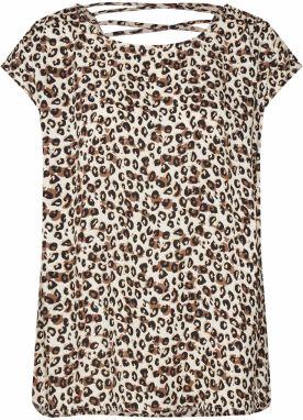 432a19003 Krémové bodkované tričko s dlhým rukávom Garcia Jeans značky Garcia ...