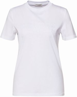 Tričko 'SLFMY PERFECT SS TEE' SELECTED FEMME Biela SELECTED FEMME