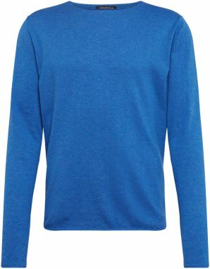 Sveter 'DOME CREW NECK NOOS' SELECTED HOMME Modré SELECTED HOMME
