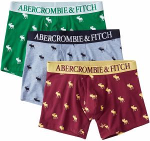 Abercrombie & Fitch Boxerky 'BTS19-FALL TRNK APPLES MULTIPACK 1CC'  zmiešané farby