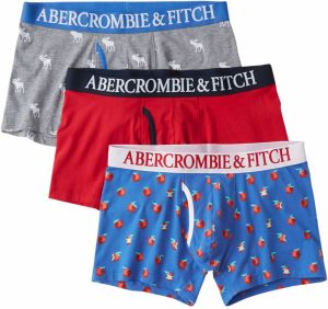 Abercrombie & Fitch Boxerky 'BTS19-FALL BB MULTIPACK 1CC'  zmiešané farby
