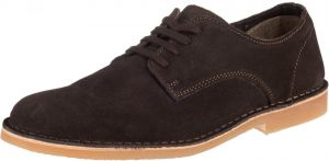 SELECTED HOMME Šnurovacie topánky 'SLHROYCE DERBY LIGHT SUEDE SHOE W'  hnedé