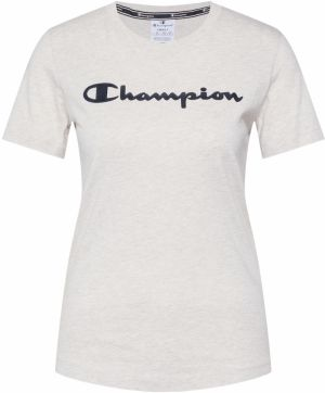 Champion Authentic Athletic Apparel Tričko  šedobiela