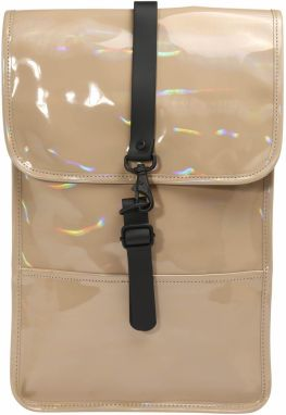 RAINS Batoh 'Holographic Backpack Mini'  béžová