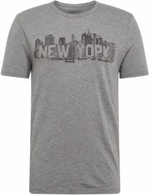 Banana Republic Tričko 'LOCATION NEW YORK GRAPHIC TEE'  sivá