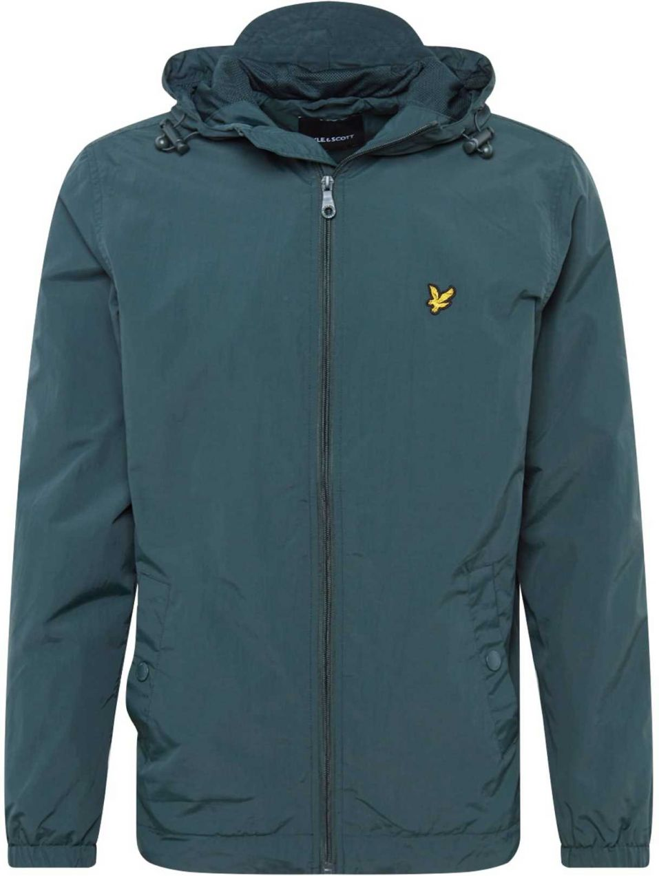 Lyle & Scott Prechodná bunda 'Zip Through Hooded Jacket'  nefritová