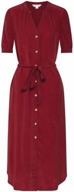 Whistles Šaty 'DANA SHIRT DRESS'  burgundská