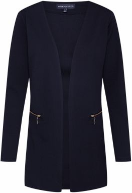 Mela London Blejzer 'TWO ZIP COVER UP'  čierna