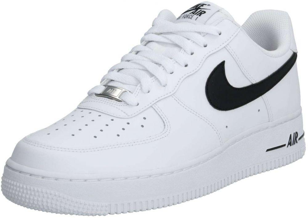 Nike Sportswear Nízke tenisky 'AIR FORCE 1 07 AN20' čierna biela