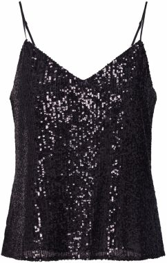 Banana Republic Top 'SL SEQUIN CAMI'  čierna