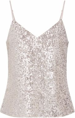 Banana Republic Top 'SL SEQUIN CAMI'  šampanské