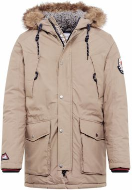 JACK & JONES Zimná bunda 'JOREXPLORE LIMITED PARKA'  sivá