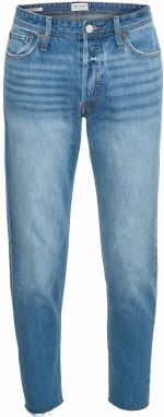 JACK & JONES Džínsy 'JJIFRED JJORIGINAL CR 073 CUT OFF LTD'  modrá denim