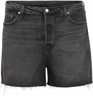 Levi's® Plus Džínsy 'PL501 ORIGINAL SHORT'  šedá denim