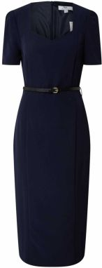 Dorothy Perkins (Tall) Puzdrové šaty 'Tall Navy Sweetheart Dress'  modré