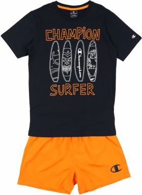 Champion Authentic Athletic Apparel Set  modré / oranžová