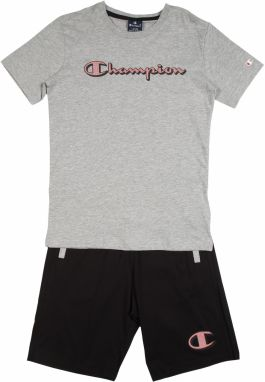 Champion Authentic Athletic Apparel Set  sivá melírovaná