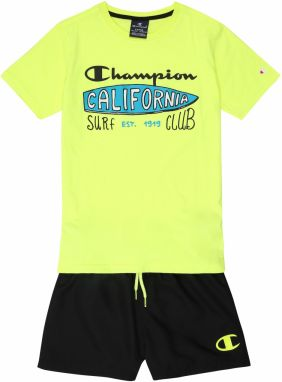 Champion Authentic Athletic Apparel Set  žlté / čierna