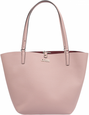 GUESS Shopper 'Alby Toggle Tote'  rosé / merlotová